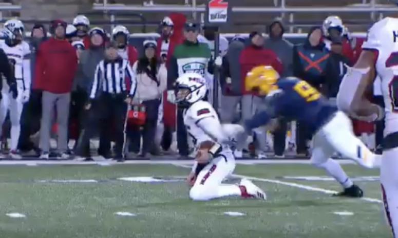 Video: Disgraceful Cheap Shot On The Quarterback In Toledo-NIU